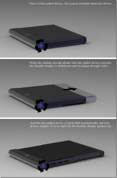 flexible display iphone Ace08