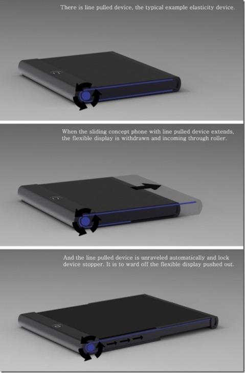 flexible display iphone Ace09