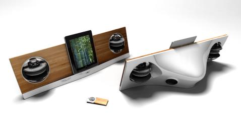 Jarre AeroPad Two Speaker Dock