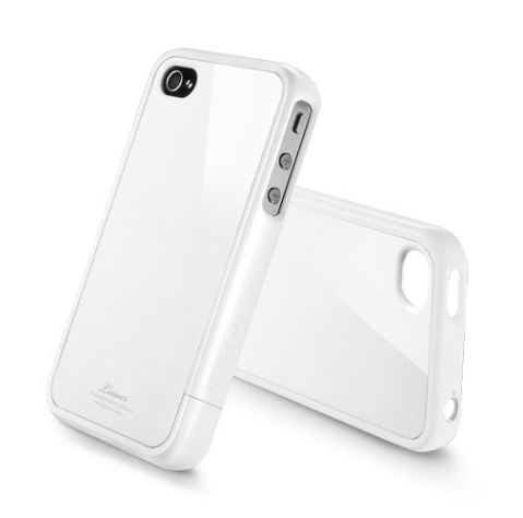 iPhone 4 4S SPG Linear Crystal Case (white)