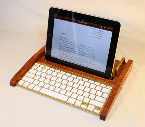 iPad Dock Work Station