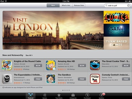 London Gets Its Own iPad App Store