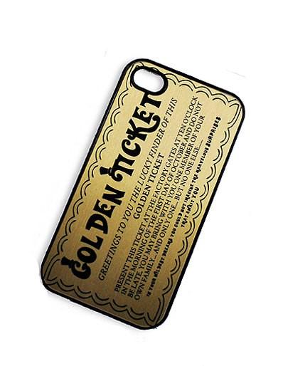 Willie Wonka iphone case