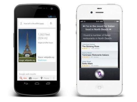 Siri vs Google Voice