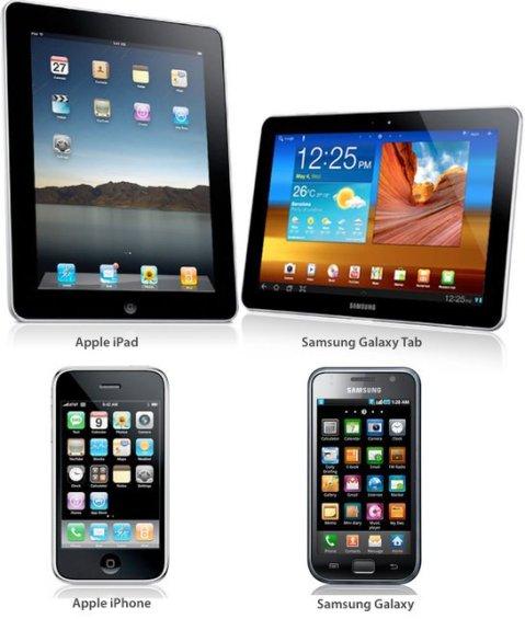 Samsung Galaxy and Galaxy Tab Trade Dress Infringement