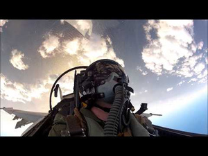 Holy Crap, Check Out This Awesome F-18 Cockpit Video